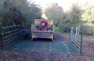Quick Fit Cattle Grid