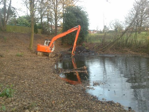 pool desilting
