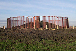 bently cairn protective fencing
